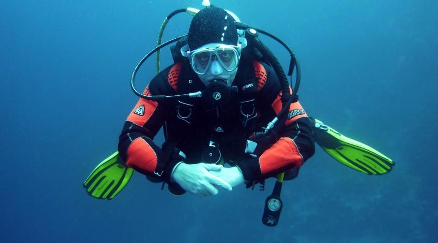 scuba diving at Dwarka