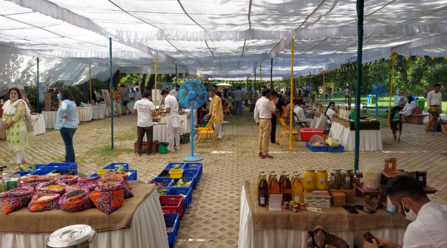 Sunder Nursery Weekend Market